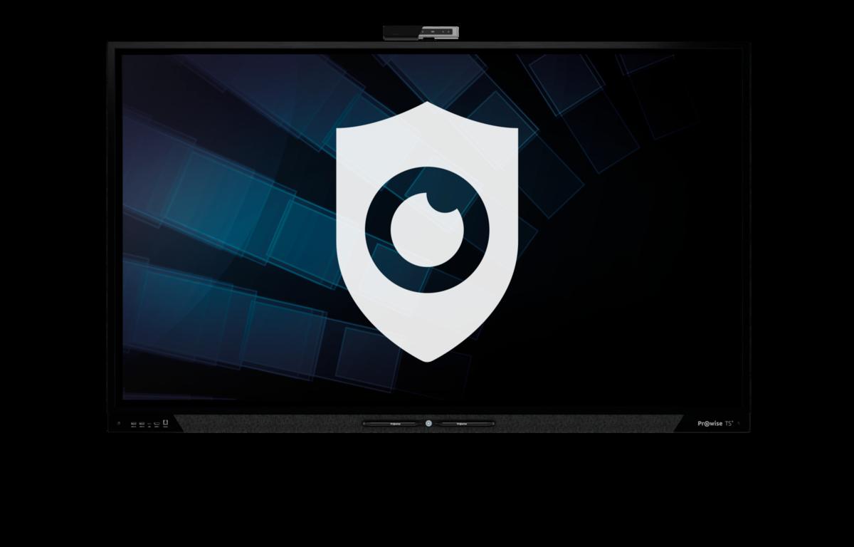 Jouw privacy centraal op een Prowise touchscreen