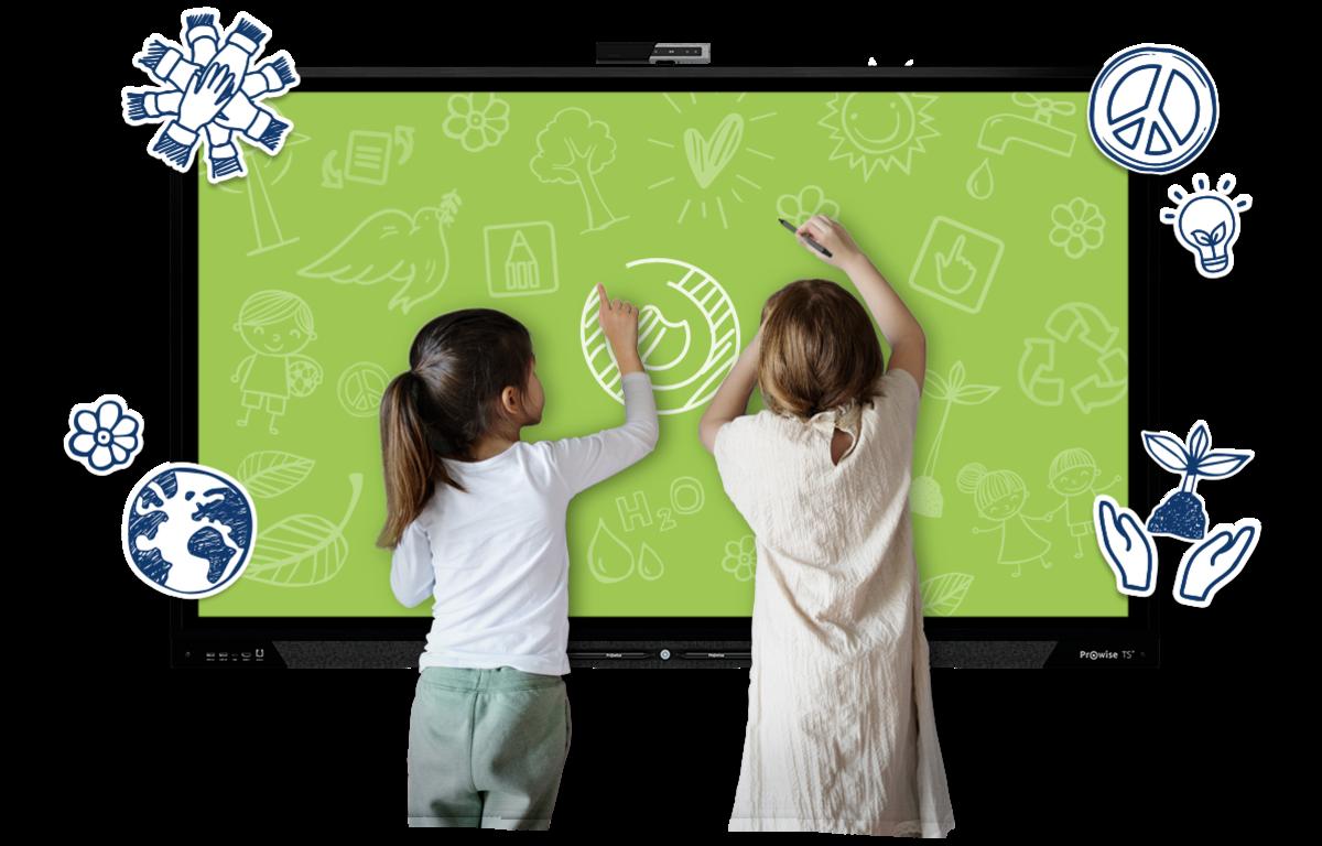 Een duurzaam Prowise Touchscreen