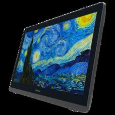 Samenwerken op een 21,5 inch tablet