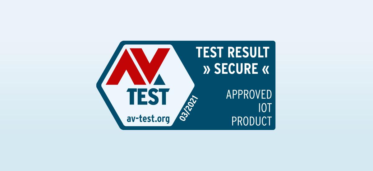 AV-Test Institute Approved Product