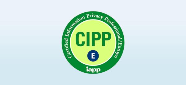 CIPP / E certified