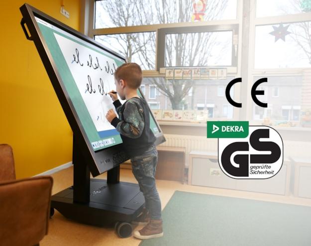Unsere iPro-Liftsysteme sind CE- und GS-zertifiziert.