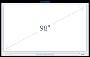 "Prowise Touchscreen Ten 98"""